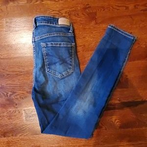 Aeropostale Stretch Denim High Waist Skinny Jeans